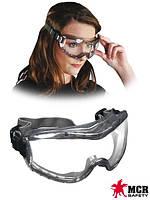 Защитные закрытые противоосколочные очки MCR-STRYKER-F, фото 1