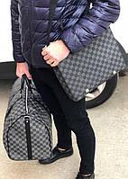 Чоловіча сумка Louis Vuitton District (репліка), фото 1