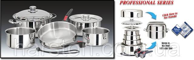 Посуда кухонная вкладываемая, 10 предметов