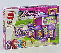 Конструктор Модный магазин для девочек, аналог Лего, 458 деталей. Детский игровой набор