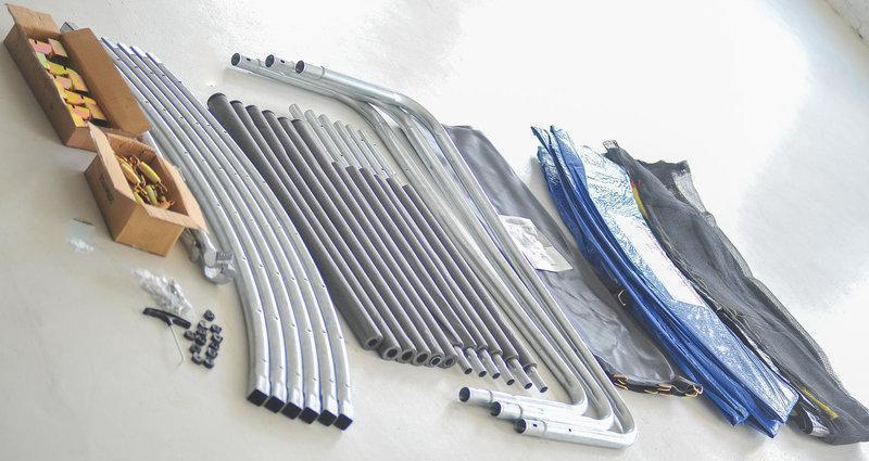 Батут SkyJump 13 фт, 404 см с внешней сеткой - фото 4