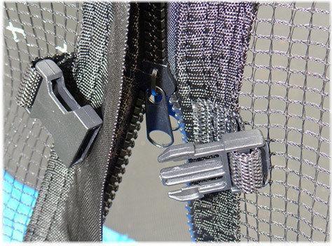 Батут SkyJump 13 фт, 404 см с внешней сеткой - фото 8