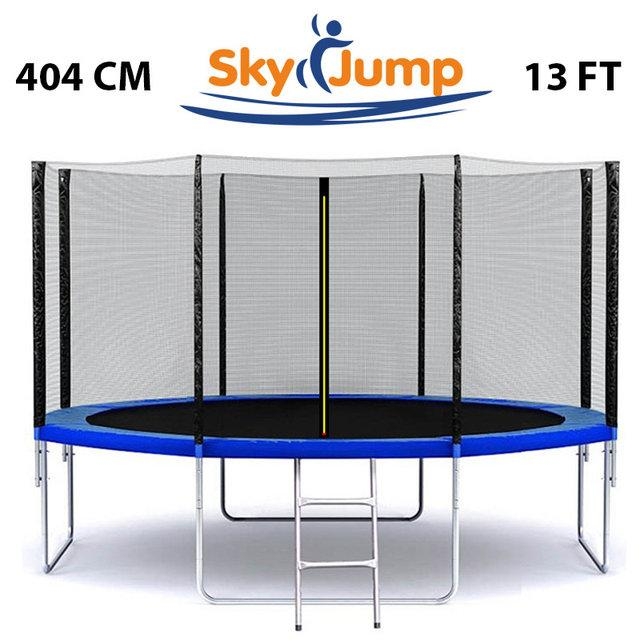 Батут SkyJump 13 фт, 404 см с внешней сеткой