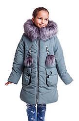 Зимняя куртка парка  для девочки от производителя 34-40