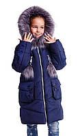 Зимняя куртка пальто  для девочки подростка интернет магазин  34-40