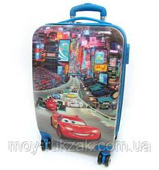 """Детский чемодан дорожный, Тачки Cars 20"""""""