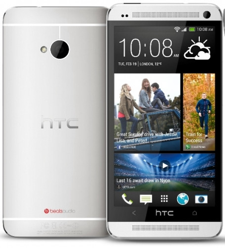 Смартфон HTC One M7 (801e) 32Gb Silver