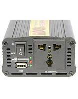 Преобразователь напряжения/Инвертор 500W, защита от перегрузок и нагрева.