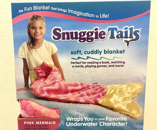 Одеяло - плед Хвост русалки для детей Snuggie Tails, фото 2