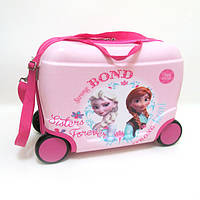 "Детский чемодан - каталка на 4 колесах ""Холодное Сердце"" 520267"