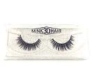 Ресницы накладные Mink 3D Hair (натуральная норка) 1 пара № 001, фото 2