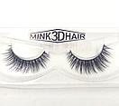 Ресницы накладные Mink 3D Hair (натуральная норка) 1 пара № 001, фото 5