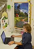 """Обігрівач-картина плівковий на стіну """"Лаванда, квіти, сад"""", карбоновий обігрівач-панно, фото 4"""
