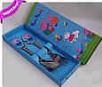 Столовый набор PEPPA PIG подарочный детский, купить оптом со склада 7км Одесса, фото 4