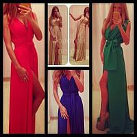 Платье в пол РК755