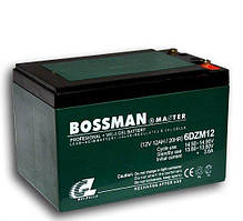 Аккумулятор Bossman Gel 12V 12Ah. Аккумулятор Bossman Master Gel 6DCM12 12V 12Ah.
