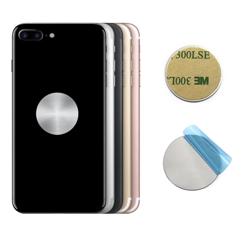 Металлическая пластина Szkoston для магнитного держателя (Серебристая, 1шт)
