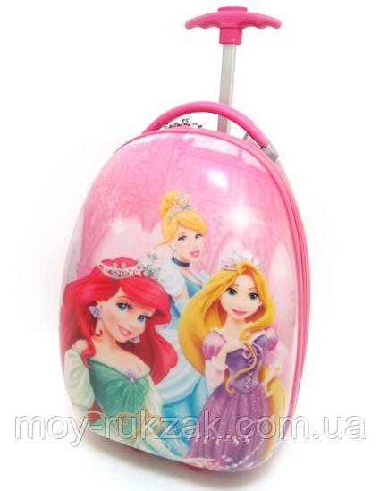 Детский чемодан дорожный Принцессы-2