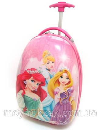 Детский чемодан дорожный Принцессы-2, фото 2