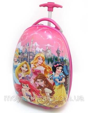 """Детский чемодан дорожный на колесах """"Josef Otten"""" Принцессы Princess , фото 2"""