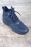 Кроссовки женские утепленные синие