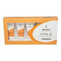 IMAGE Skincare Пробный набор Vital C Trial Kit 5х7,4ml, фото 1