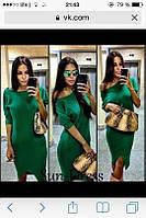 Платье зеленое РК434, фото 1
