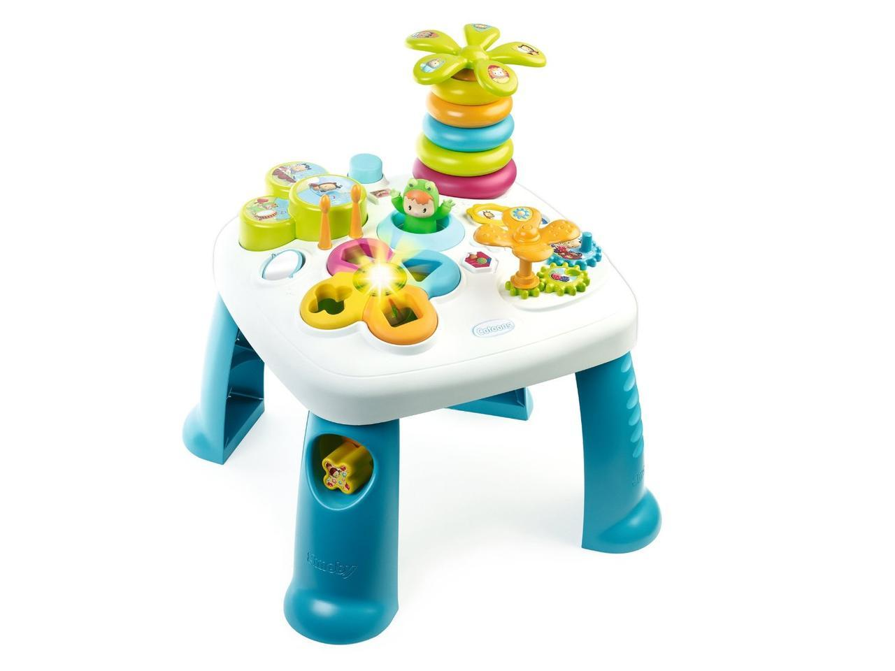 Развивающий игровой столик Цветочек Cotoons Smoby Франция