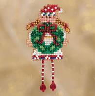 Набор для вышивки крестиком и бисером Holli Elf Mill Hill