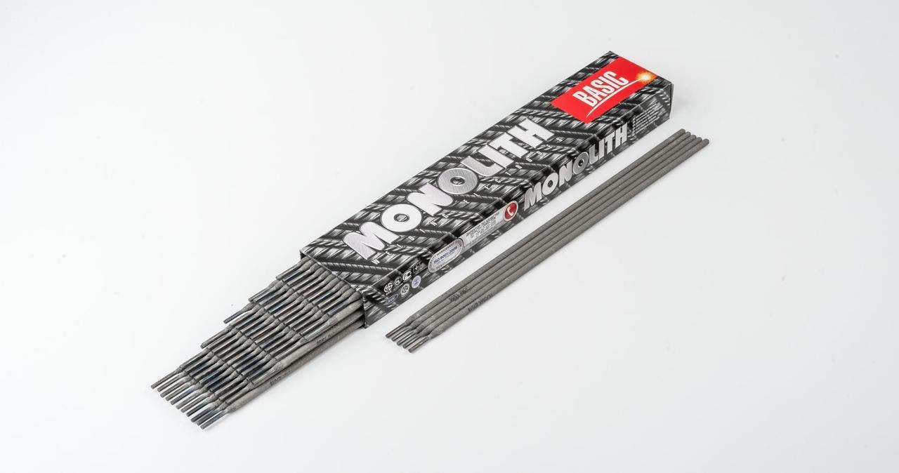 Электроды УОНИ-13/55 ПЛАЗМА TM MONOLITH Ø 3 мм (упаковка - 2,5 кг)