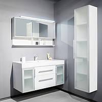 Комплект мебели для ванной 120 см Barbados 2-120 Fancy Marble