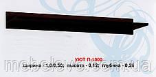 Полка П-1000 Уют ДСП   150х1000х260мм  Абсолют, фото 3