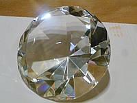 Кристалл белый крупный 9,5 см.диаметр