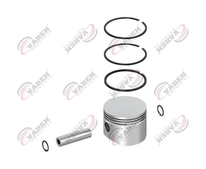 Поршень компрессора с кольцами KNORR, Renault Magnum, Premium, Midlum, Kerax (mj 020177 | 7000781101-VDN)
