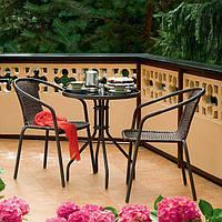 Набор садовой мебели BISTRO стол +2 кресл