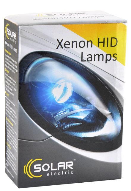 Лампы ксеноновые Solar H8 6000k (2шт)