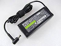Блок питания Sony 90W VGP-AC19V26 19.5V, 4.7A, разъем 6.5/4.4 (pin inside) [3-pin] ОРИГИНАЛЬНЫЙ