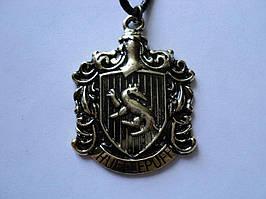 Подвеска факультета Пуффендуй! Для тех кто знает что такое Гарри Поттер!