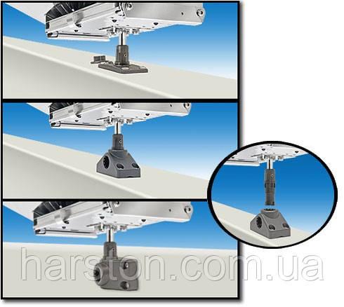 Крепление для гриля или стола к держателю спининга с шарниром