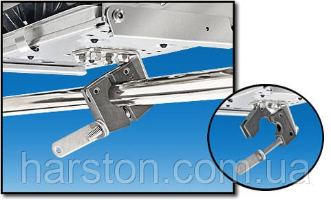 Крепление для гриля или стола на трубу горизонтальную 22-25мм