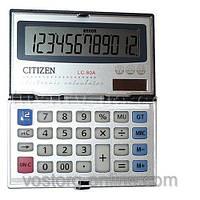 Канцтовары. Калькуляторы. Citizen 80а. Калькулятор Citizen 80а, с солнечной батареей.