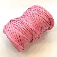 Бумажный шнур розовый (примерно 14 м)