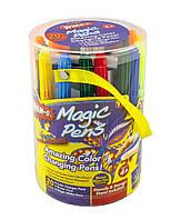 Волшебные фломастеры magic pens, волшебные фломастеры меняющие свой цвет magic pens, Волшебные фломастеры Magi