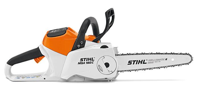 STIHL MSA 160 C-BQ, аккумуляторная пила, шина 30 см, без АКБ и З/У
