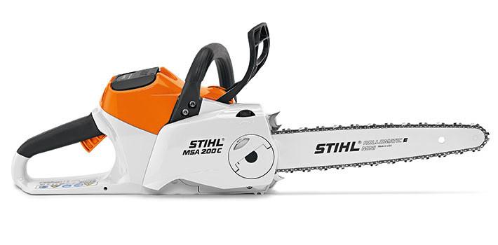 STIHL MSA 200 C-BQ, Аккумуляторная пила, шина 35 см, без АКБ и З/У