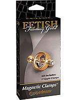 Магнитные зажимы для сосков - Gold Magnetic Clamps