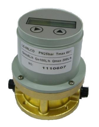 Лічильник обліку палива LS 08 LCD