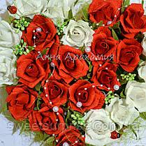 """Сердце из конфет """"Сладкая валентинка"""", фото 3"""