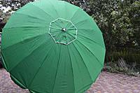 Пляжный зонт, торговый зонтик, садовый, диаметр 3,5м, круглый, зонт 12 спиц , красный