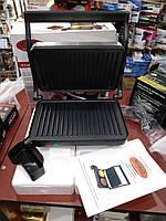 Прижимной контактный гриль WimpeX WX1055 (барбекю-электрогриль) 1000W